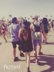 Festival Wellness crew at Coachella